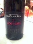 Rosehall Run Defiant - $18.95